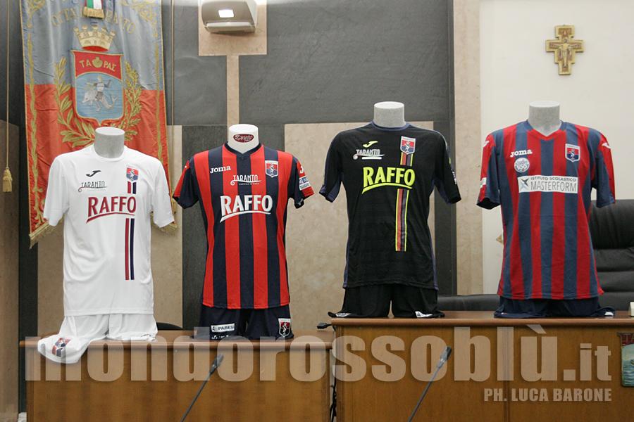 PRESENTAZIONE TARANTO FC
