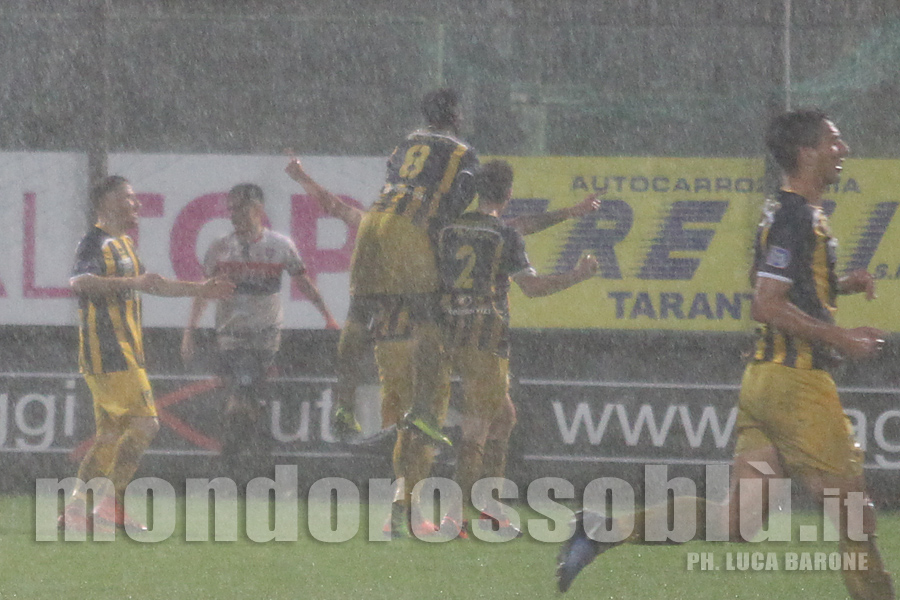 TARANTO-GRAVINA 0-3